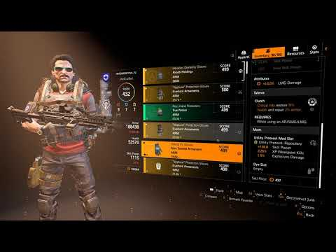 DIVISION 2 - *NEW* BEST LMG BUILD - PVE/PVP - INSTANT RELOAD 200% DAMAGE - WT5 HEROIC - WORLD TIER 5 thumbnail