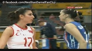 TURKEY vs. Russia / Incredible 1st Set (FIVB WCH 2010)