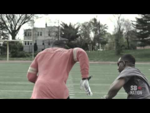 "Vernon Davis ""It Smells Like Gunpowder"" - Motivational training - Core of Sports"