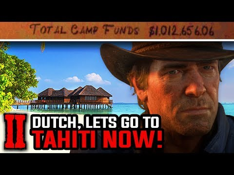 Can you Donate $1,000,000 and Go to Tahiti? - Red Dead Redemption 2