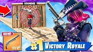 *SCARY* Corn Maze! 6 Shooter *OLD WEST* Shootout! in Fortnite!