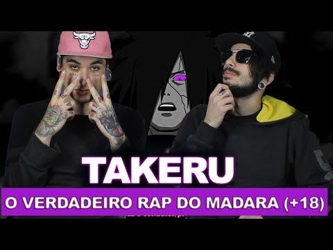 O VERDADEIRO RAP DO MADARA (+18) | Takeru | REACT / ANÁLISE VERSATIL