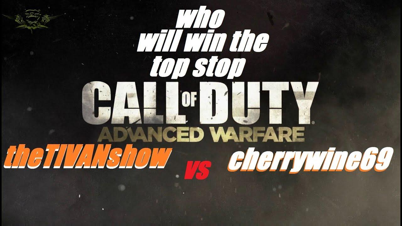 Advanced warfare - PS4 - theTIVANshow VS cherrywine69 - call of duty show down