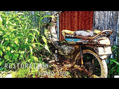 FULL RESTORATION • 1992 HONDA DREAM 100cc Abandoned • TimeLapse •