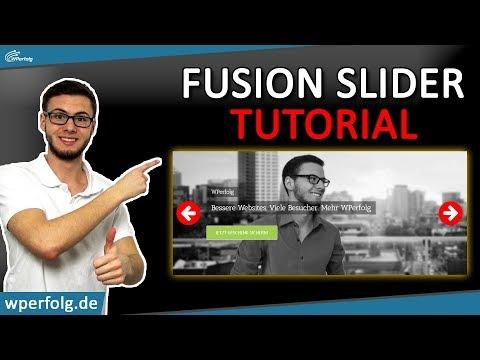 ☞ENDLICH: Avada Fusion SLIDER ERSTELLEN ☞Simples 3 SCHRITTE WordPress SLIDER TUTORIAL ☞Deutsch 2018