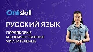 Русский язык 6 класс: Порядковые и количественные числительные