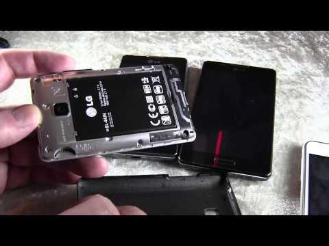 LG Optimus F5, L3 II, L5 II und L7 II im Hands-On
