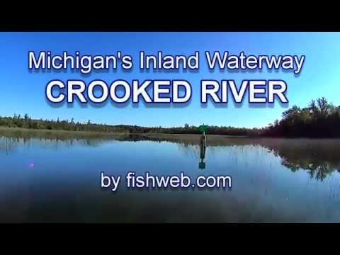 The Crooked River Michigan Inland Waterway