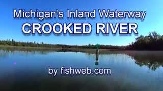 The Crooked River Michigan Inland Waterway