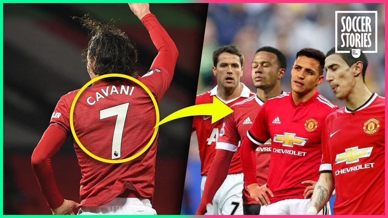 How Edinson Cavani broke the n°7 curse at Manchester United | Oh My Goal