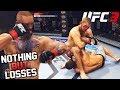 UFC 3 Video Of Losses! I Get KTFO! EA Sports UFC 3 Online Gameplay!