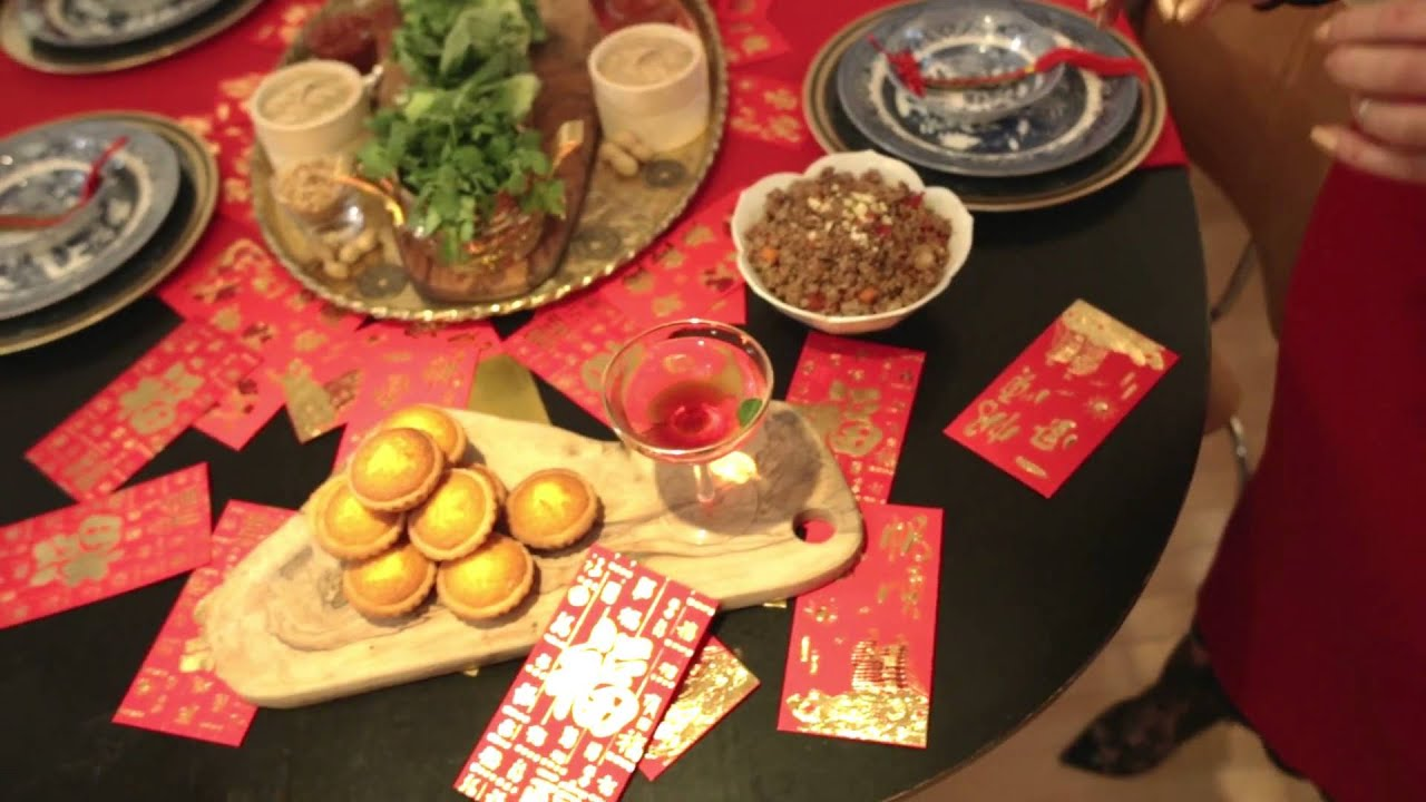 chinese new year traditions and table settings video from gracie carroll - Chinese New Year Traditions