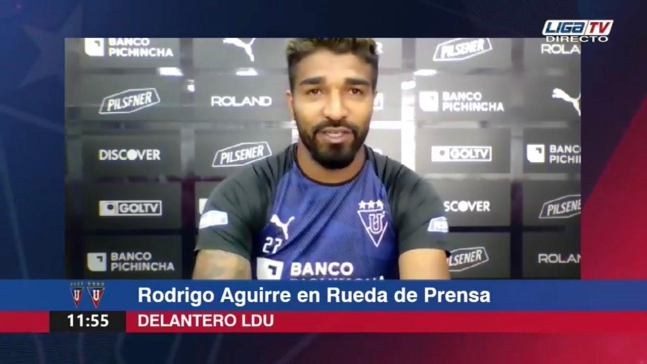 Rodrigo Aguirre | Rueda de prensa virtual