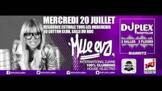 TOUS LES MERCREDIS & LES JEUDIS DE L'ETE ★ MLLE EVA ★ au Duplex Club Biarritz