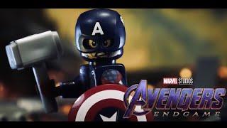 Avengers: Endgame Captain America vs Thanos in LEGO
