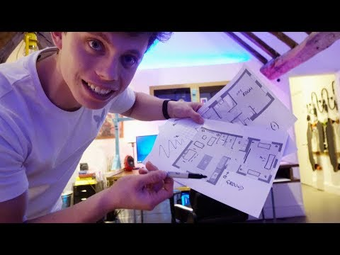 PLANNING THE NEW HOUSE WITH TECH!! *INSANE*