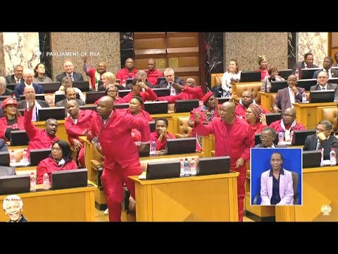 Julius Malema 'I Want To Vote Zuma Out'