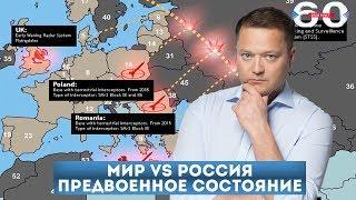 Мир vs Россия. Предвоенное состояние
