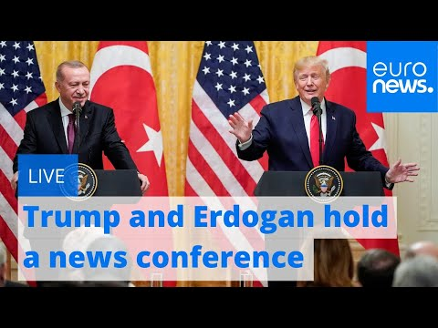Trump, Erdogan hold a news conference at the White House  | LIVE