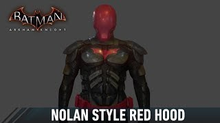 SKIN; Batman; Arkham Knight; Nolan Red Hood