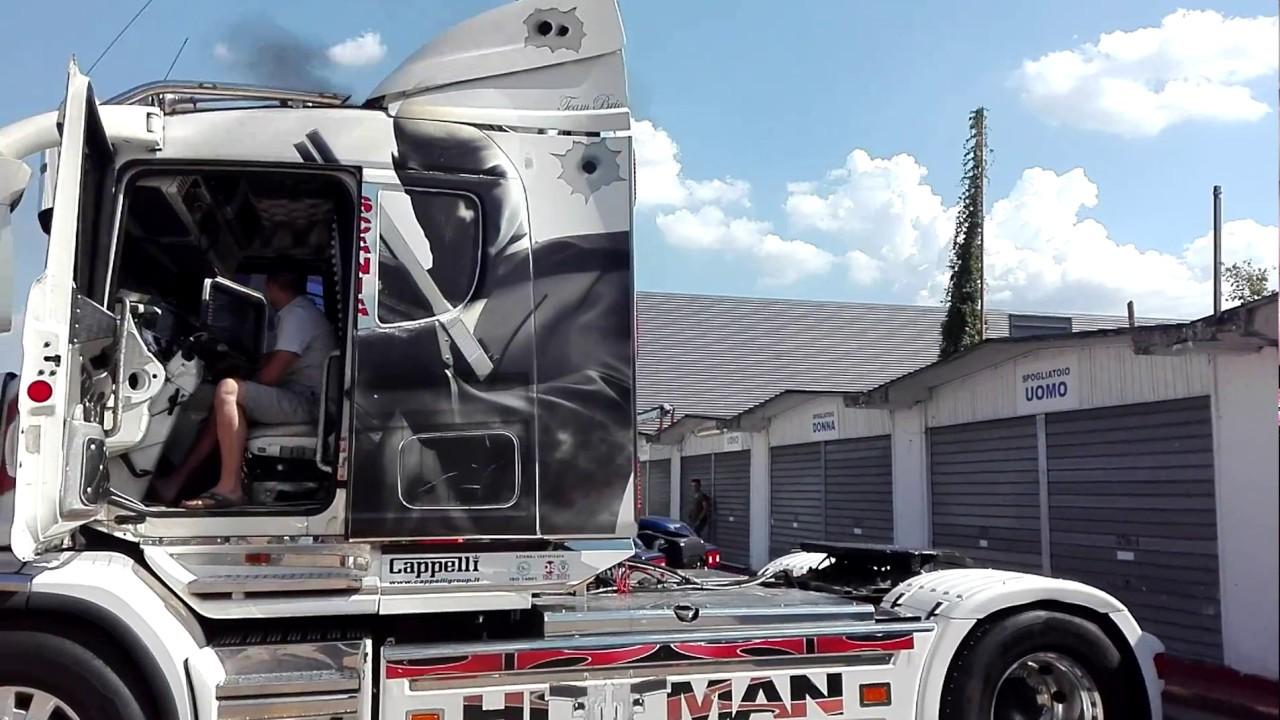 vestibilità classica grandi affari negozio ufficiale Cappelli Group - Scania T 144-460 - Primo Raduno Truck Centro ...