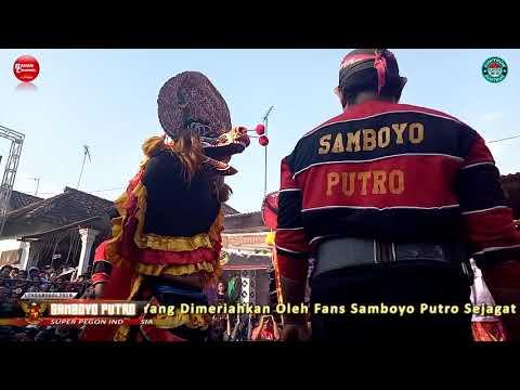 Angkernya Singo Barong Bhayangkara SAMBOYO PUTRO Live Grogol Kediri 2018