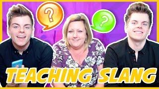 british twins teach mum internet slang   nikinsammy