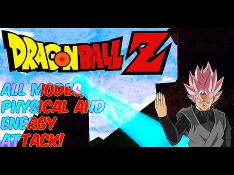 Roblox: Dragon Ball Z RAGE| All Energy and Physical Attacks and Transformation!!