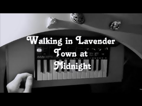 Music Short Story #1: Walking in Lavender Town at Midnight