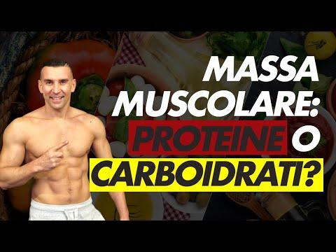 Massa Muscolare più proteine o più carboidrati?