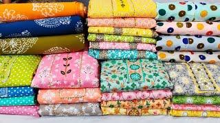 इससे सस्ता कही नहीं मिलेगा Cotton Ladies suit wholesale market in delhi Jaipuri suits chandni chowk