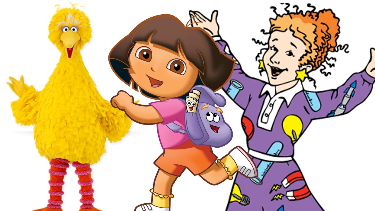 Top 10 Educational TV Shows For Kids - YouTube