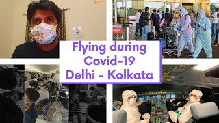 Flight Travel Experience During Lockdown Delhi - Kolkata  | Guidelines | Covid 19 OutBreak | Free TV