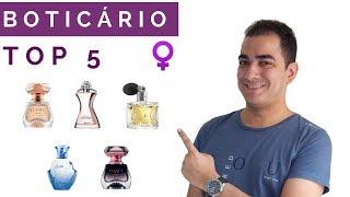 TOP 5 | Melhores perfumes femininos da Boticário