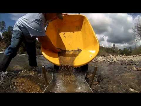 """""""gold rush"""" american river with """"gopro"""""""