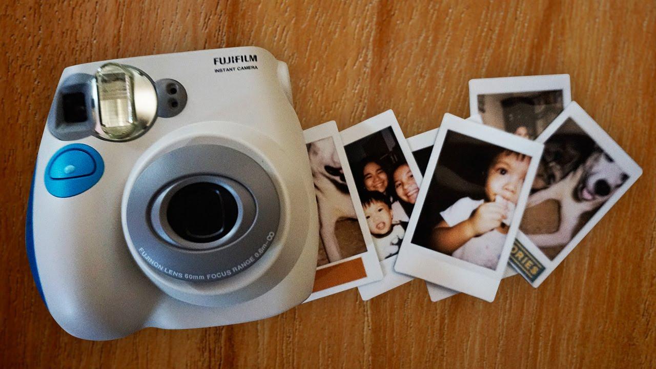 Polaroid Vs Instax >> Fujifilm Instax Mini 7s - YouTube