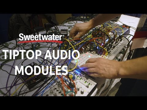 TipTop Audio Modules Demo from Knobcon 2017