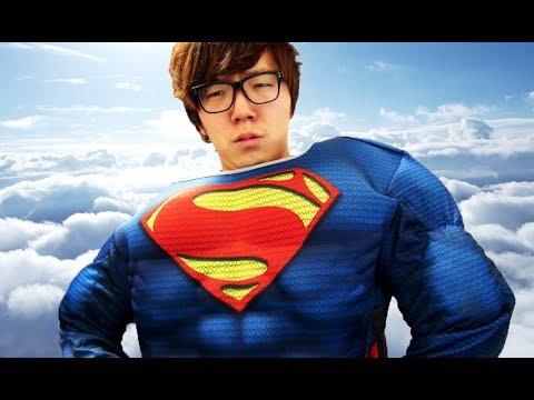 スーパーマンのコスプレしてみた...