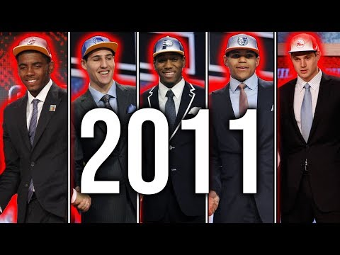 The Best Starting 5 From Every Draft Class