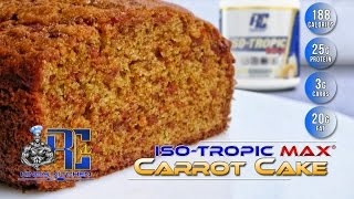 Ronnie Coleman Protein Carrot Cake - King's Kitchen Episode 4 W/ Marlen T Page