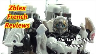 Hasbro TLK Premier Edition Deluxe Class Cogman (Review in French)
