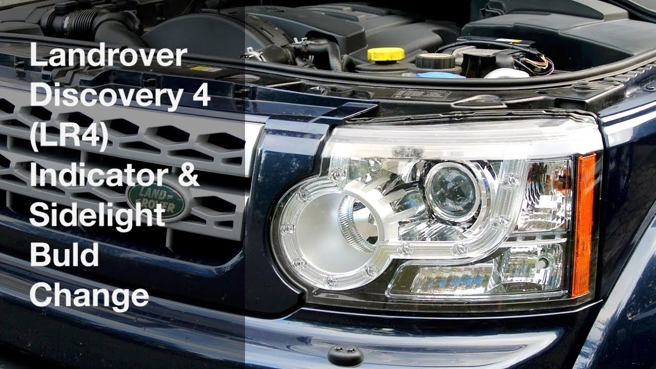 Land Rover Discovery 4 Trailer Plug Wiring Diagram Venn Worksheet Grade Landrover Lr4 Indicator And Sidelight Buld Replacement