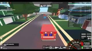 ROBLOX Ultimate Driving II Reagiert auf einen Notfall in einem Krankenwagen