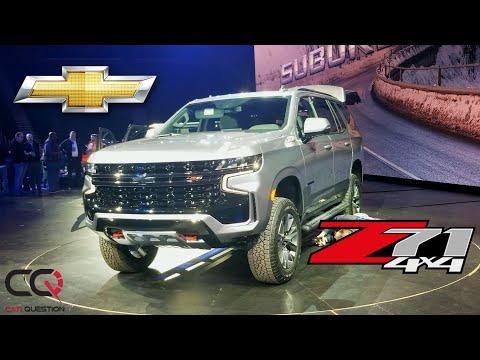 Sneak Peek | Chevrolet Tahoe Z71 And Chevrolet Suburban 2021 | Major Style!!!