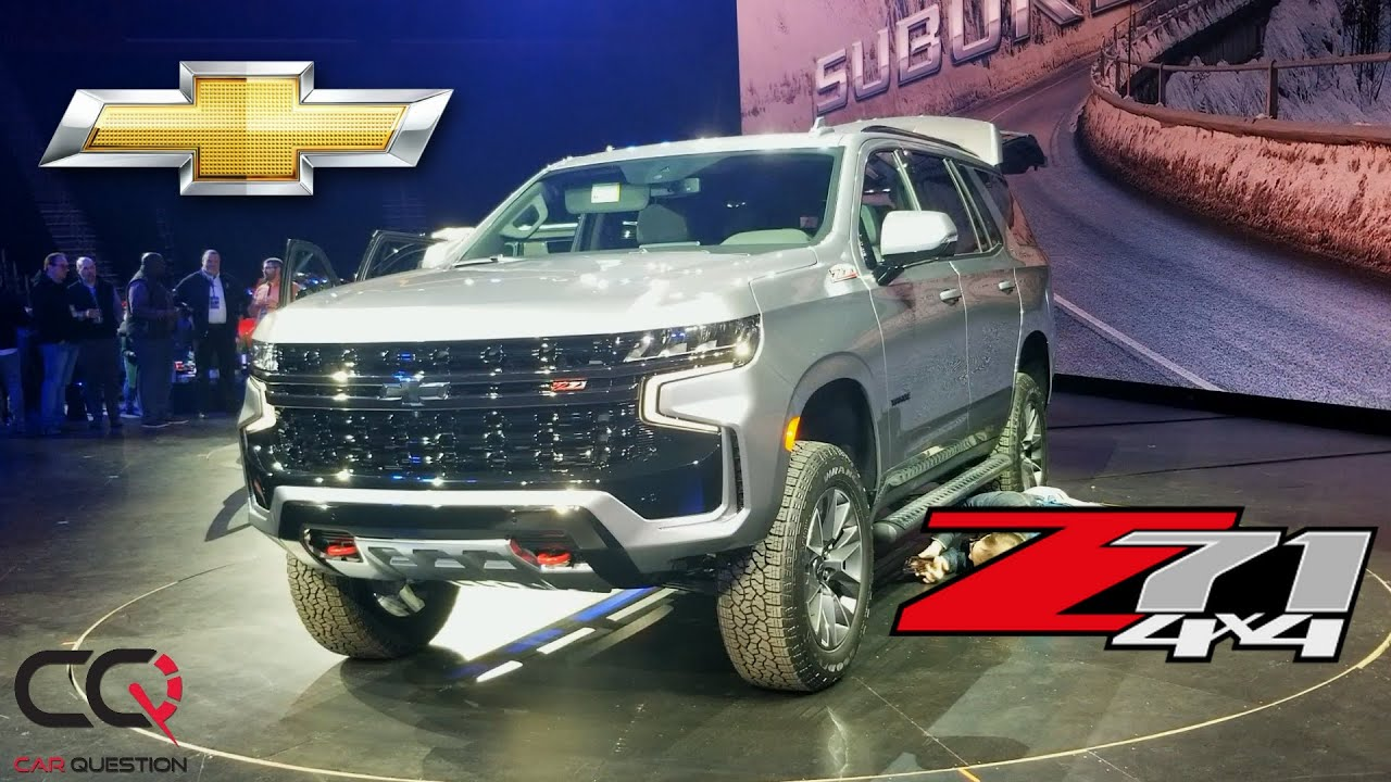 Sneak Peek | Chevrolet Tahoe Z71 and Chevrolet Suburban ...