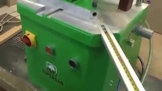 видео Двухфрезерный станок Supersan 013