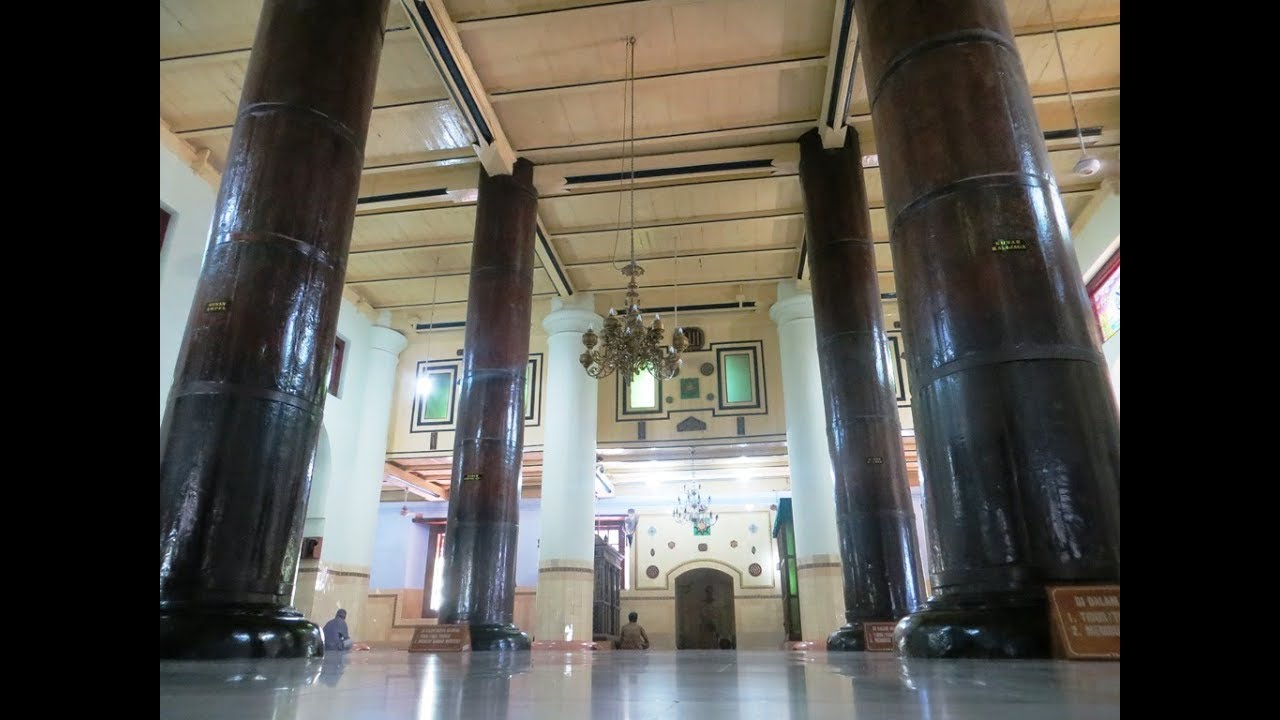 Masjid Demak Dan Tiang Ajaib Sunan Kalijogo Youtube
