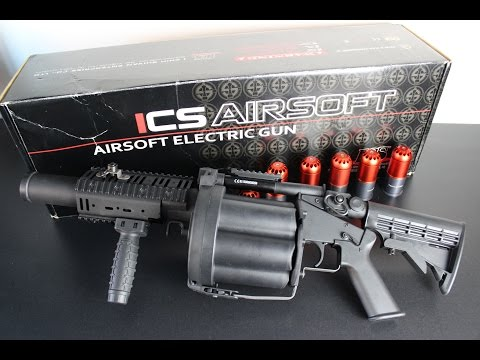 "ICS - MGL 6 Launcher "" 2016 Tag Round Version "" Multi Grenade Launcher"
