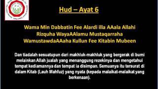 Qs 116 Surah 11 Ayat 6 Qs Hud Tafsir Alquran