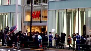 H&M Shinjuku Grand Opening